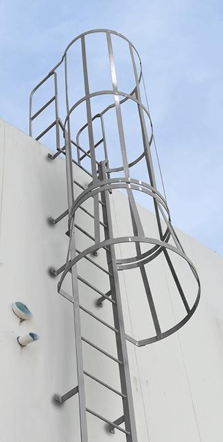 Fixed Ladders Cotterman