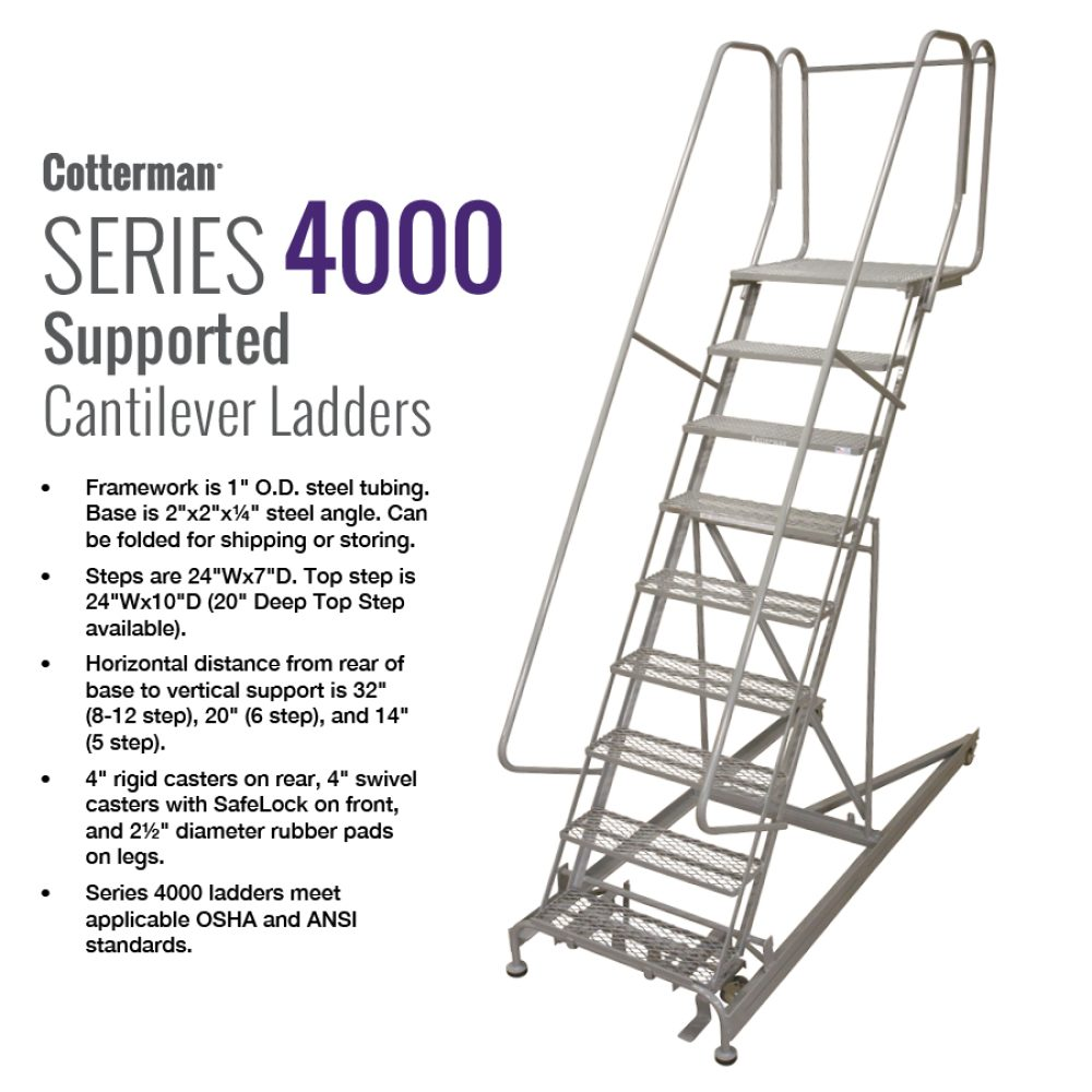 cotterman-series-4000-cantilever-ladder-rolling-metal-ladder