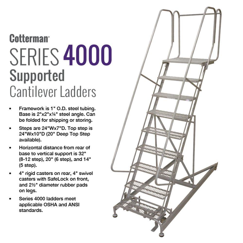 cotterman-series-4000-cantilever-ladder-rolling-metal-ladder
