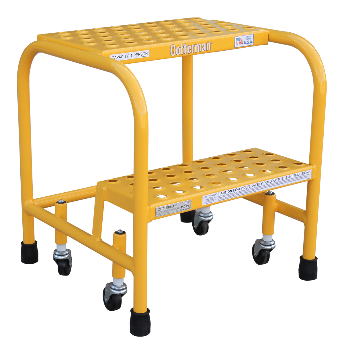 cotterman safety step ladder
